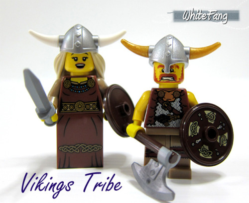 Vikings Tribe by WhiteFang (Eurobricks) on Flickr.