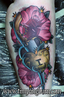 Super fun tattoo I got to do a few weeks back. http://timpangburn.comhttp://facebook.com/timpangburnart
