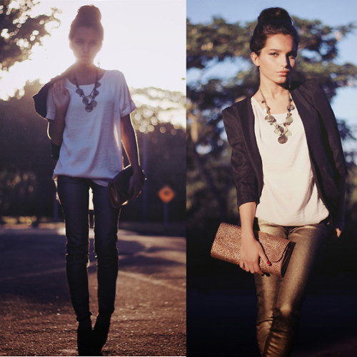 fascinate-fashion:  Golden afternoon . (by Alana Ruas)