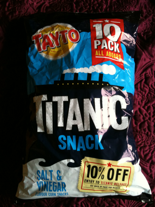 Since when did this happen to Tayto crisps?! Lovelovelove though :3