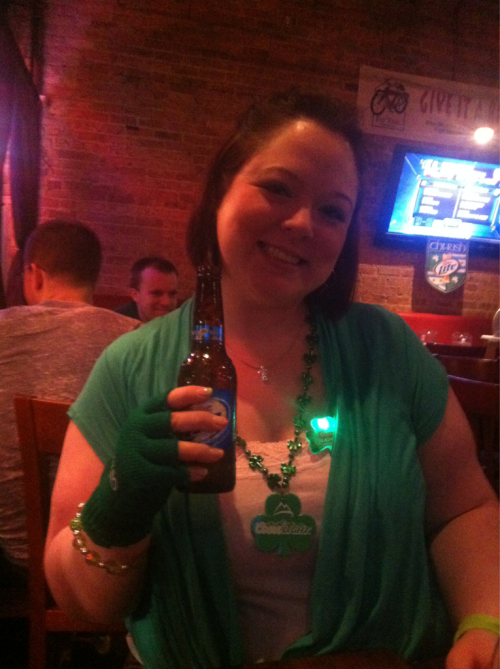 Last Saturday night. St. Patricks day fun!