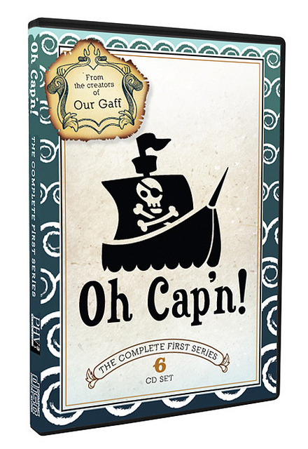 Mockup Case on Flickr. Via Flickr: Mock up case for the comedy show Oh Cap'n. If you'd like to see this become a reality, pitch in :)