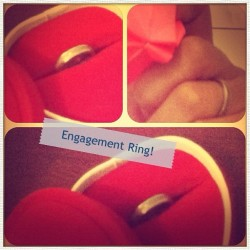 Cincin dari sayang ku @totoreb :* #gift #amazing #love (Taken with instagram)