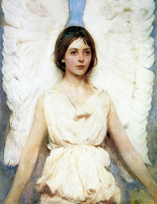 Abbot Henderson Thayer An Angel 1887