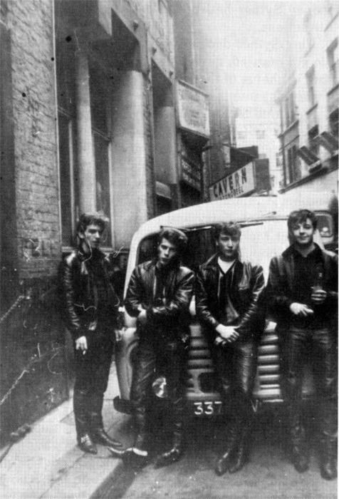 The Beatles, Greaser Edition.