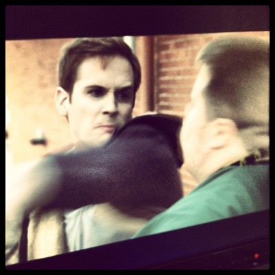 rickboven:  Rick Boven and Paul Walter Hauser in…The Departed 2: Departing Harder.