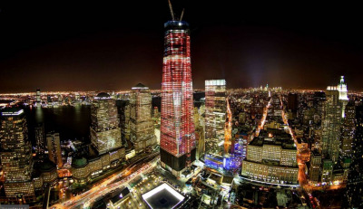 In the coming weeks One World Trade Center will be surpassing the Empire State Building as the tallest in New York City.