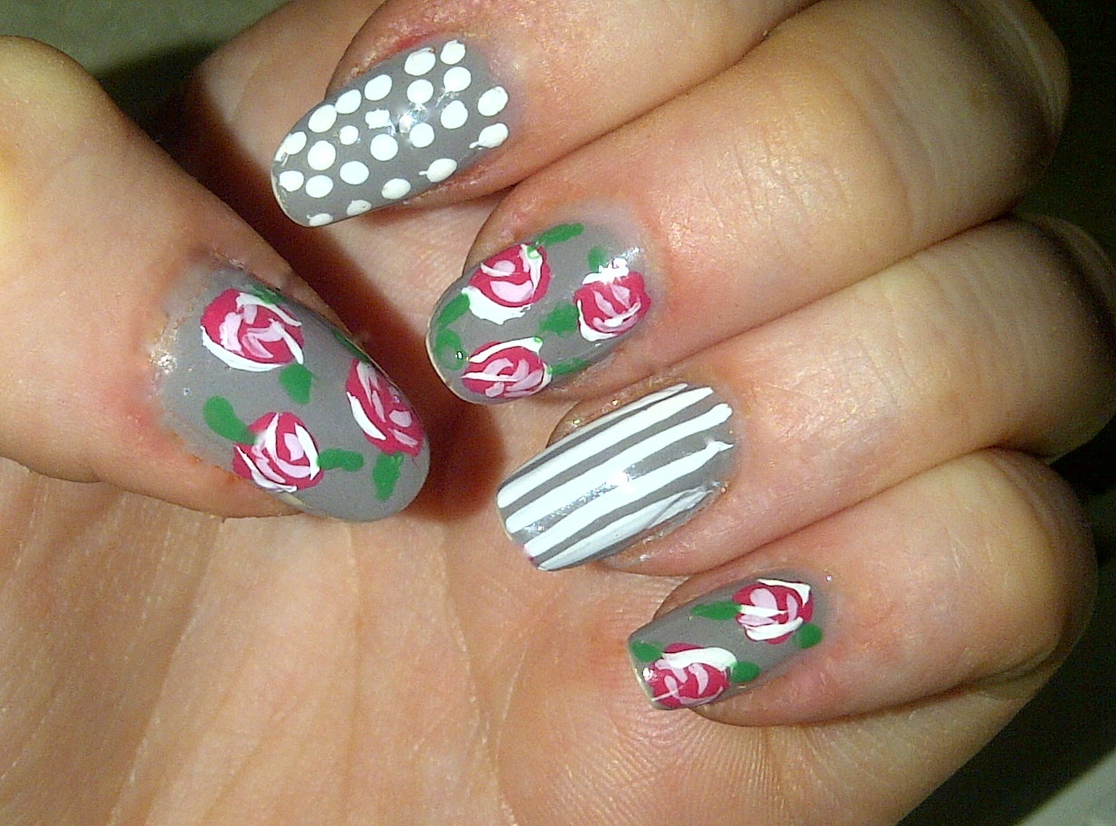 floral, stripes and dots!
