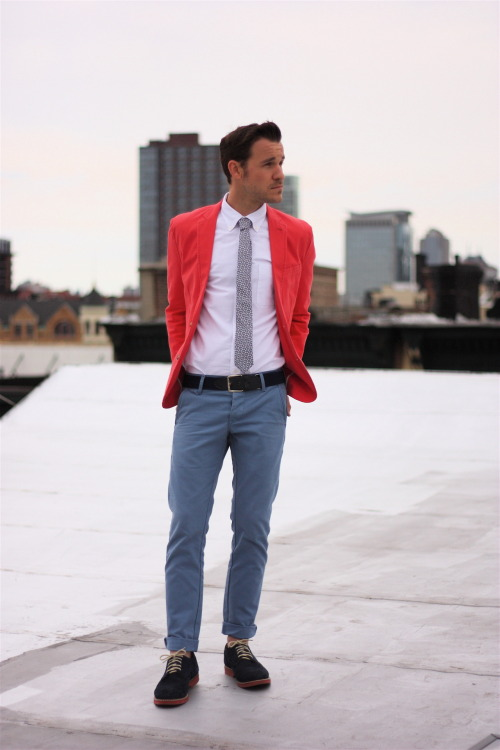 urbano-outfitters:  The Bright Colored Blazer - Take 2