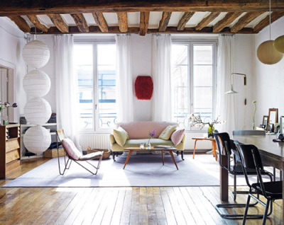 micasaessucasa:  vanessa bruno's home in paris