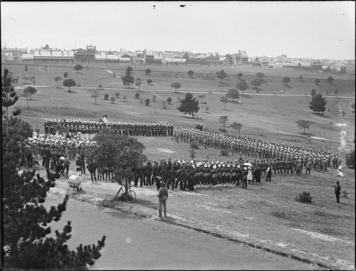 Military Review, Moore Park by Powerhouse Museum Collection on Flickr.