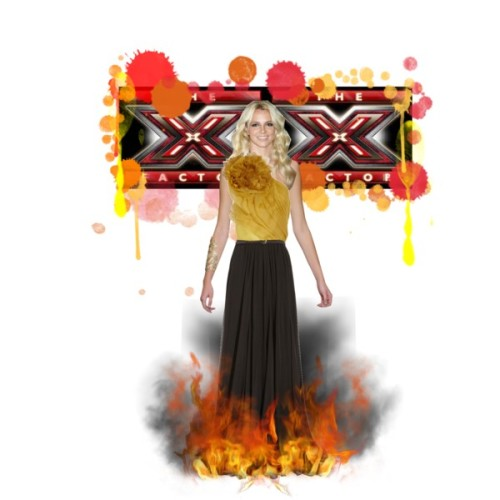 Glam Britney for X-Factor by glam-val featuring ball gownsGucci ball gown, £2,265