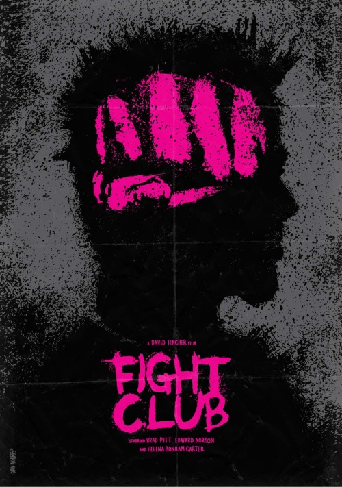fuckyeahmovieposters:  Fight Club by Daniel Norris