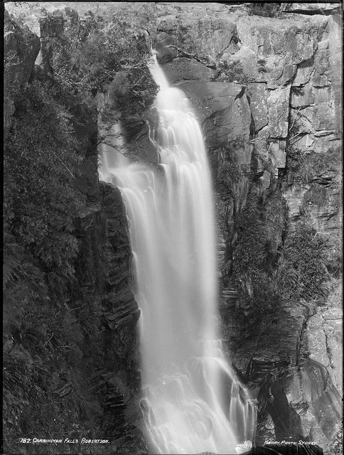 Carrington Falls, Robertson by Powerhouse Museum Collection on Flickr.