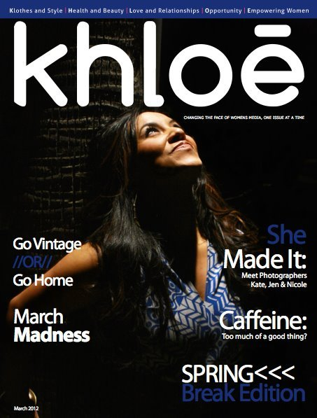 Have you heard the news? The March Issue of Khloe is FREE! We are undergoing some big changes here at Khloe and transitioning our format to that of an online ezine. This is going to allow us to reach more people which is what Khloe is all about.You can get the whole scoop in Hope's letter at the beginning of the issue. At the moment the Khloe website is down to begin this change but stay tuned here and to our Facebook page for more details! Please enjoy this months issue which includes how-tos, Q& As, and articles from Jennifer Grace atTonic Salon, Photographers Kate of Kaymore Photography and Jen/Nicole of Jenuine Creations, LLC - Photography, and your monthly columns like C. Life in Japan :: Caroline Josephine.  Oh and SHARE, SHARE, SHARE! Reblog this as much as you want to let others know about Khloe! Thanks for sticking with us! -The Khloe Staff