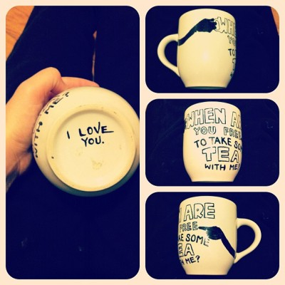DIY mugs all day.   (Taken with instagram)