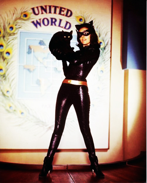 vintagegal:  Lee Meriwether in the Batman film (1966)  So babetacular. I distinctly recall as a youngster being very attracted to Lee's Catwoman. I still am.