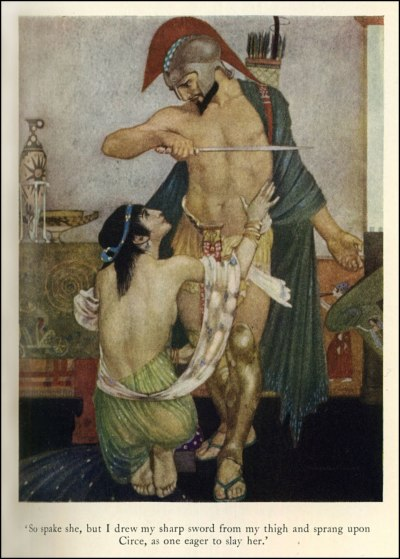 vcrfl:  unkledic:  William Russell Flint, 1880-1969, The Odyssey  Illustration for a 1924 edition of the Odyssey.