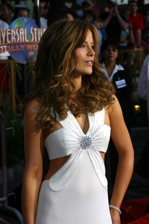 simplykatebeckinsale:  Van Helsing Los Angeles Premiere, 3rd May 2004.  Perfection.