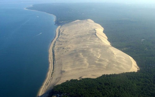 Behold, the tallest sand dune in Europe!