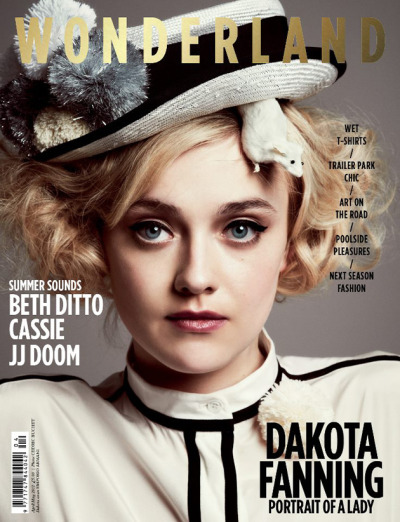 ‎Dakota Fanning for Wonderland Magazine [April/May 2012]