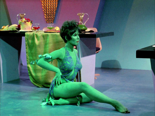 novocainelipstick:  Yvonne Craig as the Orion slave girl Marta in Star Trek