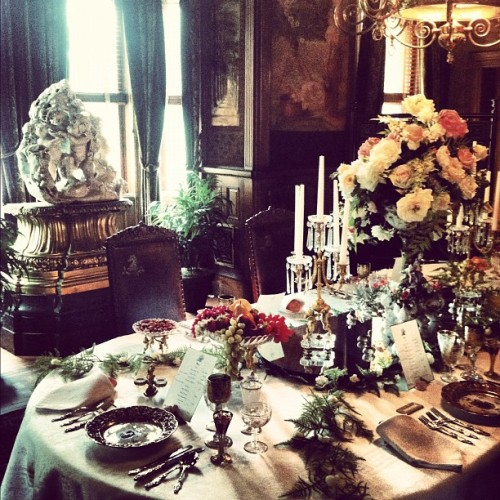 anothervodkastinger:  Dining Room, Maymont, Richmond, Virginia