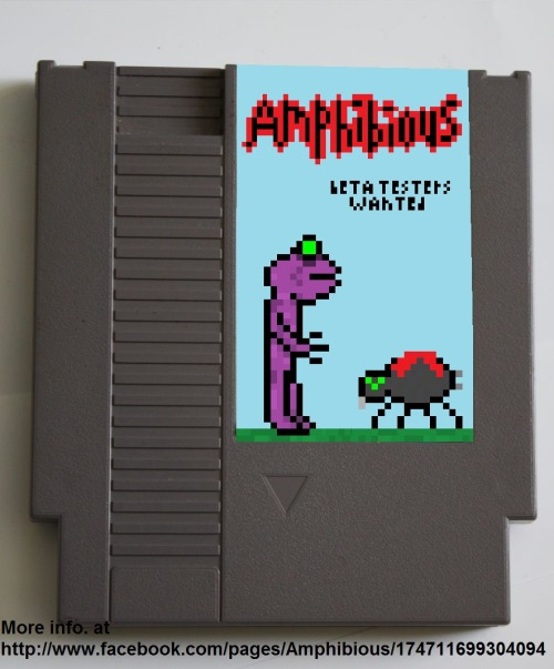 Amphibious is an app game in development that will have the classic NES style game play along with 16x16 bit graphics. For more information check out http://www.facebook.com/Amphibiousgame