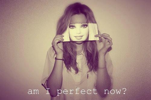 Look in the mirror right now. What you see there is perfect just the way it is. Love your body. Be kind to yourself.