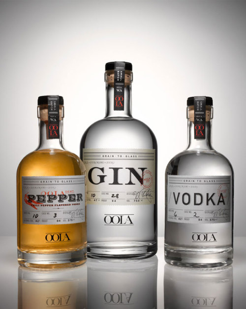 serpentine913:  Seattle, Wash. based OOLA's Premium small-batch Vodkas and Gin