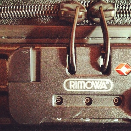 Packing for a 2 day interstate trip.. 1 carry on (Taken with Instagram at My Crib)