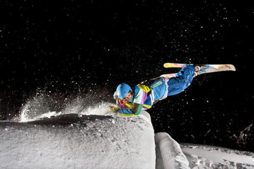 This is such a weird shot…  Skier:   Hugo Ljungquist Location:   Åre - Sweden
