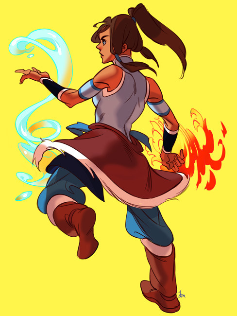 threadspinner:  quebradiza | wscale   Korra will fill the hole in my heart left by Gintama