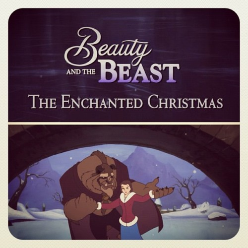 ❤ #belle #movie #disney #princess #beast #beautyandthebeast #christmas #theenchantedchristmas #cartoon #love  (Taken with instagram)