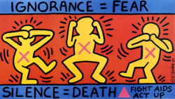 Watching a documentary on Keith Haring. God damn its beautiful. #KeithHaring #AIDS #hope #therewillbeacure