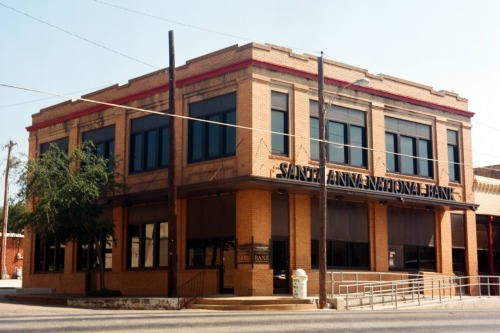 The Santa Anna National Bank was founded in 1933 in the height of the Great Depression.