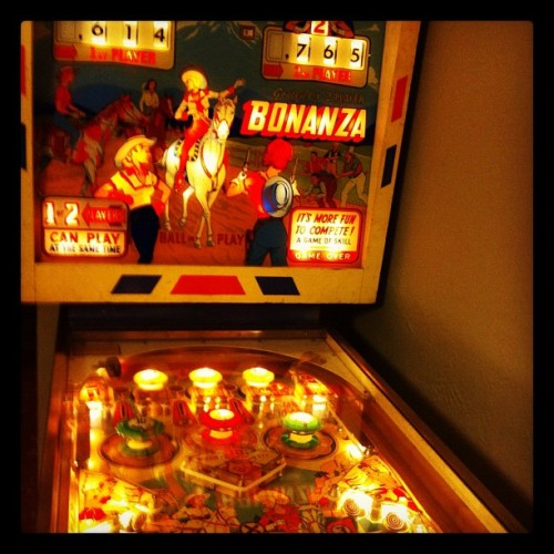 I win pinball with my chi (Taken with instagram)