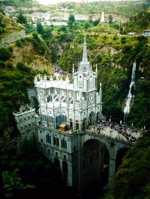 Las Lajas Sanctuary in Columbia