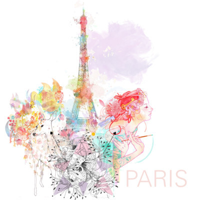 Paris ♥ by noirpapillon on polyvore.com