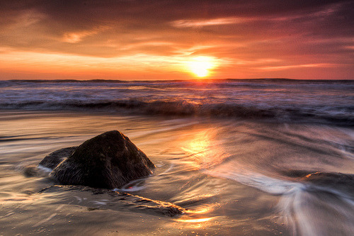Ocean Beach Sunset (by tobyharriman)