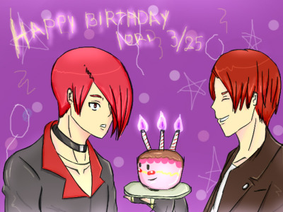 HAPPY BIRTHDAY IORI by ~chmosca