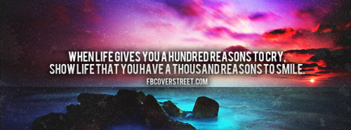 One-Hundred Reasons Facebook Cover