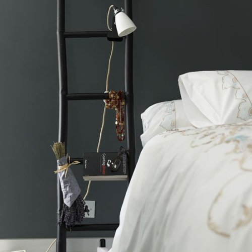 Ladder Bedside Table(via Fancy)