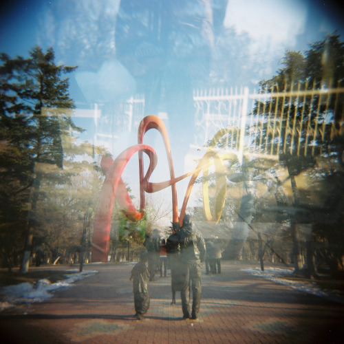 shot with the Holga 120N at 219 Park in Anshan, Liaoning, China