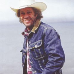 hudsonbayco:  Icon wearing an Icon - Steve Mcqueen in a Lee Storm Rider jacket