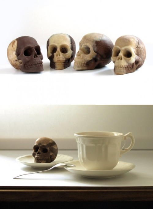 Chocolate Skull - Sparganum via Who Killed Bambi?