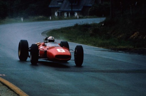 John Surtees at the 1966 Belgian Grand Prix