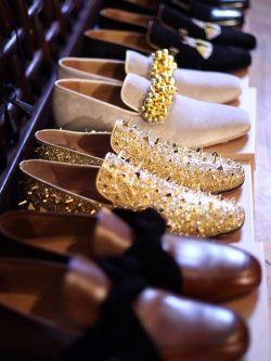 fishstewforever:  Christian Louboutin shoes.  who does it better?