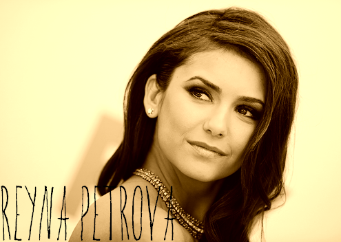 "thetimeofourlives-rpg:  Nina Dobrev is Reyna Petrova → 17 → Open  ""I'm torn between them both and I don't know what I'm going to do."" Past: Reyna was born and raised in Cave Creek, whether her name says otherwise or not. Her parents are Bulgarian, but they moved to Cave Creek early into their marriage. Reyna was spoiled from the day she was born and she always took it for granted, spending as much money as she could on useless things that she had no intention of using. Cave Creek being such a small town, her family was one of the richest. She prided herself in having money and pampered herself when she didn't need it. Then she met the Auguste brothers. Quickly, she fell head over heels in love with Cosimo, but as they began to drift apart, Dante was quick with his charms, luring her into his affections as well, causing a deep rift between them all. Present: Reyna is more conflicted than ever with these two both fighting for her affections. She's become extremely conceited, due to all of the attention she's getting from the two Italian brothers and she doesn't care what everyone else has to say about her situation. Rather than choose, she has decided to string them both along, playing games with each brother alike. The question here is: Will they stand for it? Or will they move on to find someone a bit more worthy of their time? And how will it affect the rest of their friends? Ships: Dante Auguste or Cosimo Auguste"