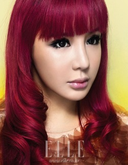 Park Bom is pretty but there are photos like this that sometimes creeps me out.